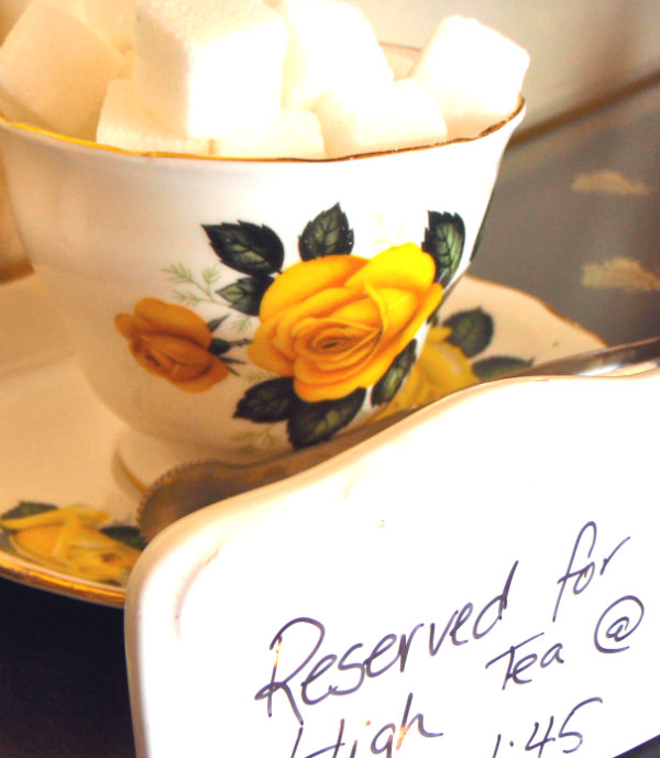 Afternoon Tea Secret Garden Company Vancouver Canada