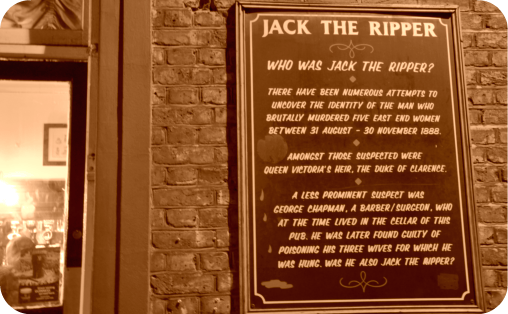 A Jack the Ripper Walking Tour in London