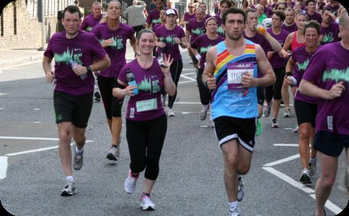 Run to the Beat Half Marathon in London