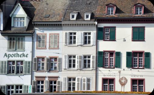 A stop in Basel, Switzerland