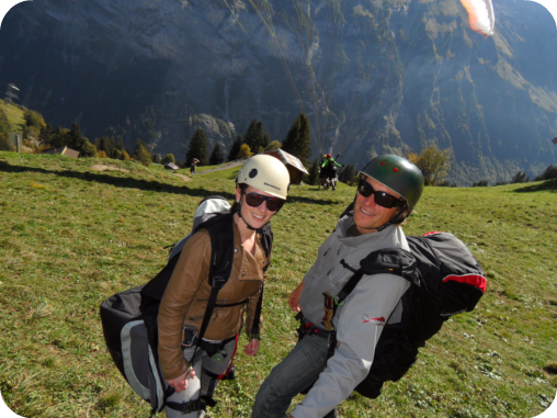 That Time I Tried Paragliding in Murren, Switzerland