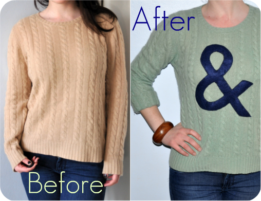 DIY: ampersand jumper