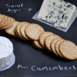 DIY chalkboard cheese platter via ellecroft.com