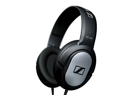 Packing checklist: Sennheiser HD 201 headphones
