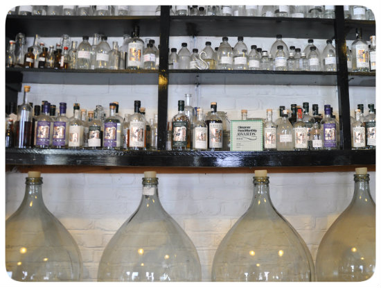 Around London: Sipsmith gin distillery
