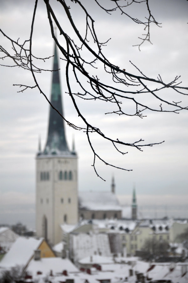 View over Tallinn, Estonia