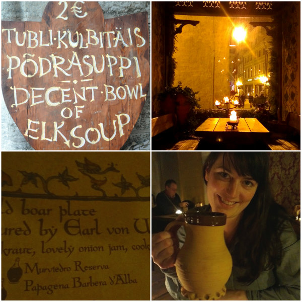 Medieval Dining in Tallinn, Estonia