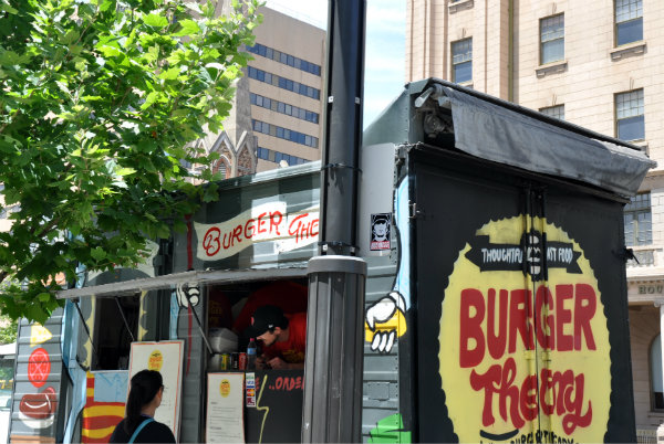 Burger Theory food truck, Adelaide