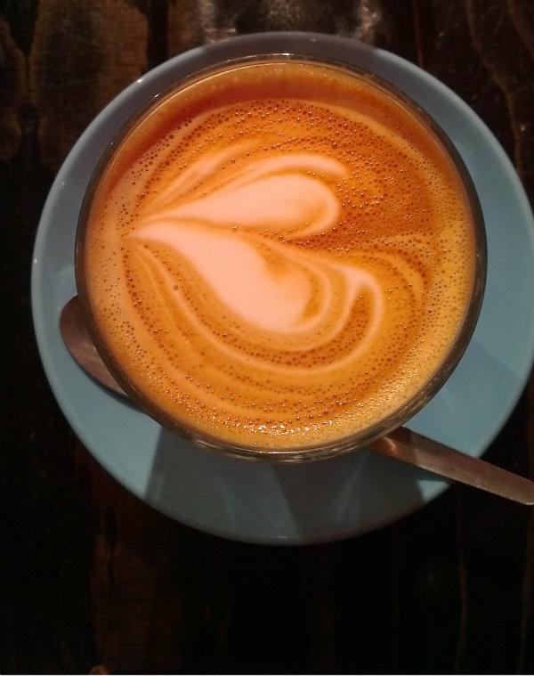 Latte at Workshop, London