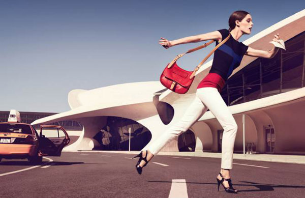 Coco Rocha for Longchamp