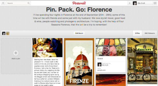 Pin. Pack. Go by Four Seasons