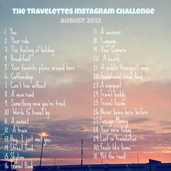 The Travelettes Instagram Challenge Roundup