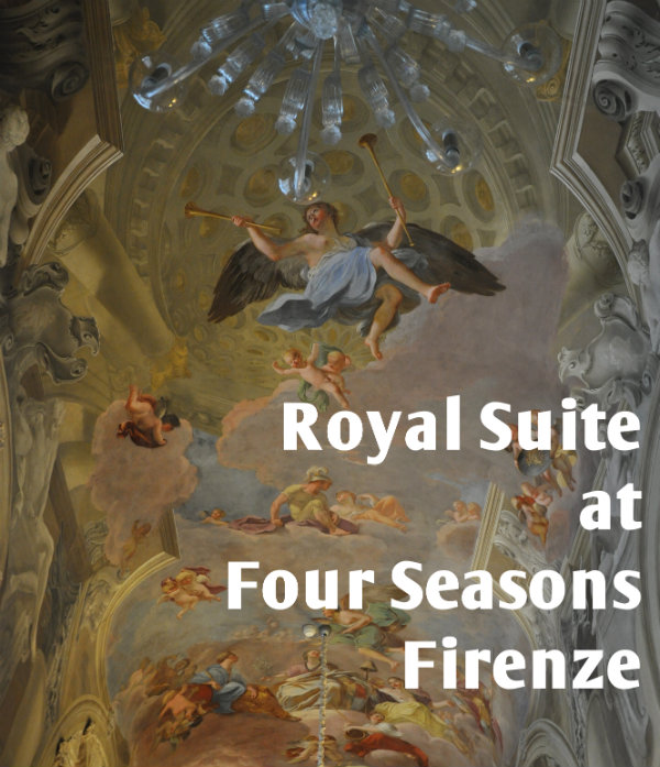 A Glimpse Inside the Royal Suite at Four Seasons Firenze