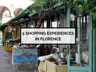 5 Shopping Experiences in Fashionable Florence