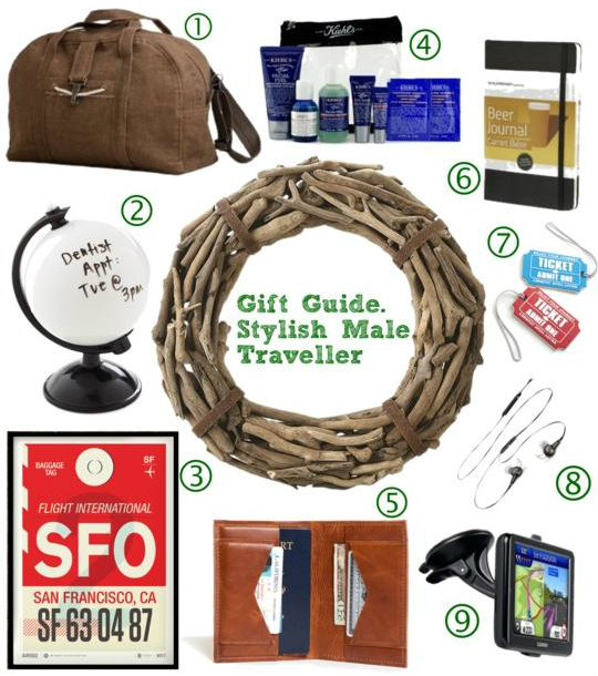 Christmas Gift Guide for the Stylish, Travel-Loving Man