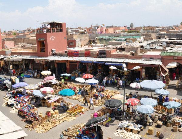 Eat in Marrakech: Cafe des Epices