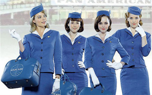 Fashionable Flight Attendants