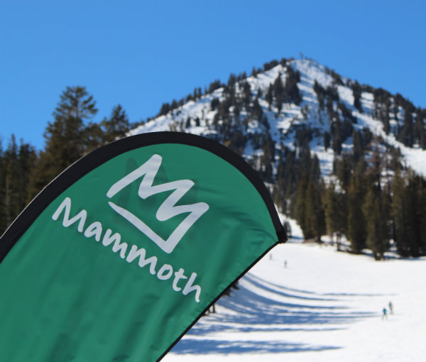 Learning to Ski at Mammoth, California