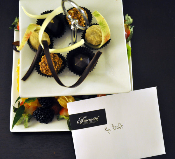 Fairmont The Queen Elizabeth Montreal Welcome Gift