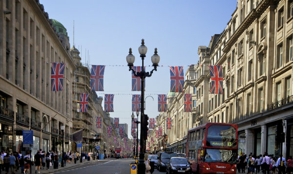 Best Places for Shopping in London Regent Street