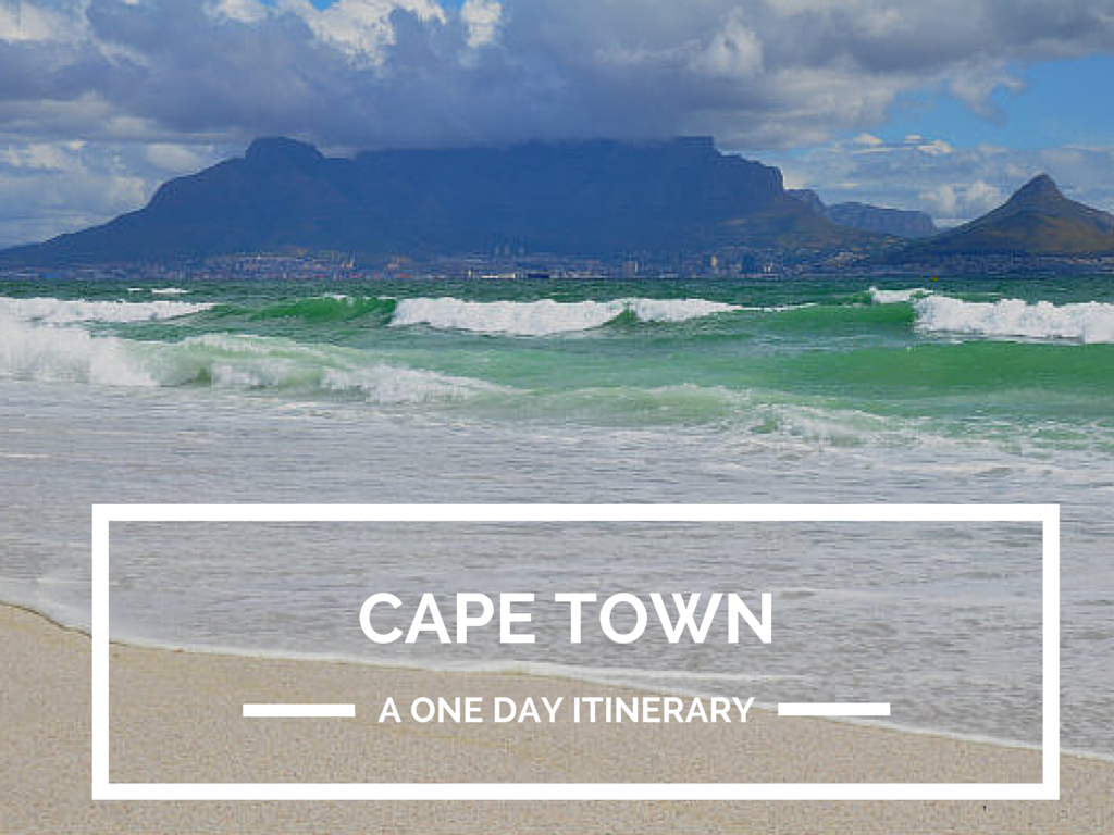 One Day Cape Town Itinerary