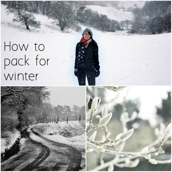 How to Pack for a Winter Holiday