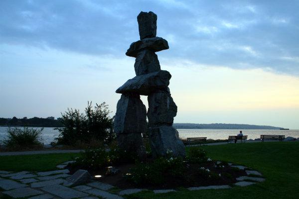 Inukshuk Vancouver Canada