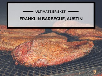 Brisket at Franklin Barbecue, Austin