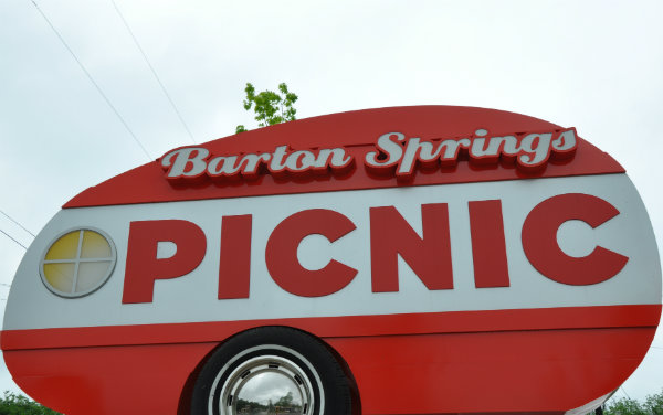 Eating in Austin, Texas - The Picnic Food Truck Park