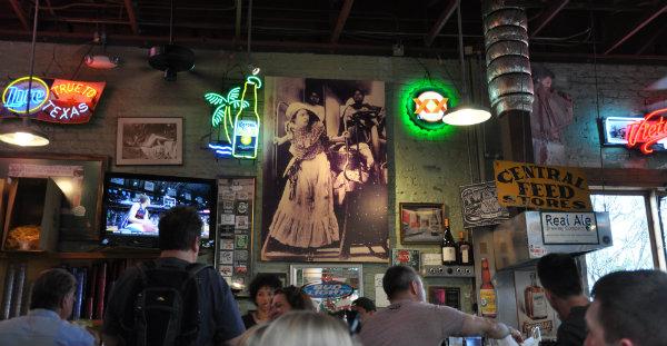 Eating in Austin, Texas - Guero's
