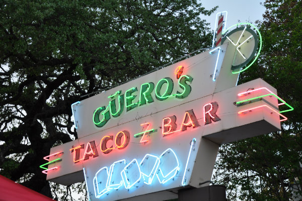Eating in Austin, Texas - Gueros