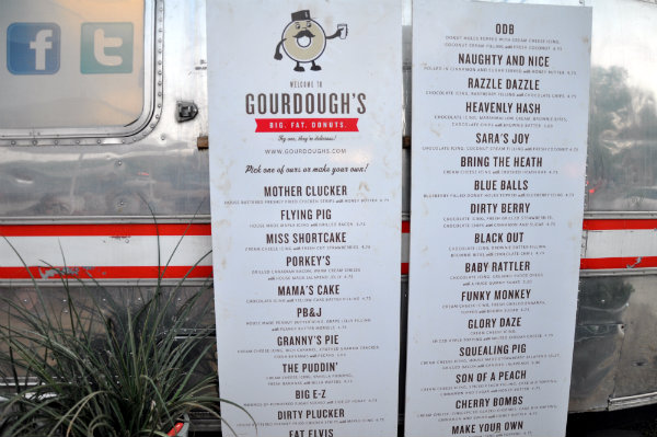 Eating in Austin, Texas - Gourdough's