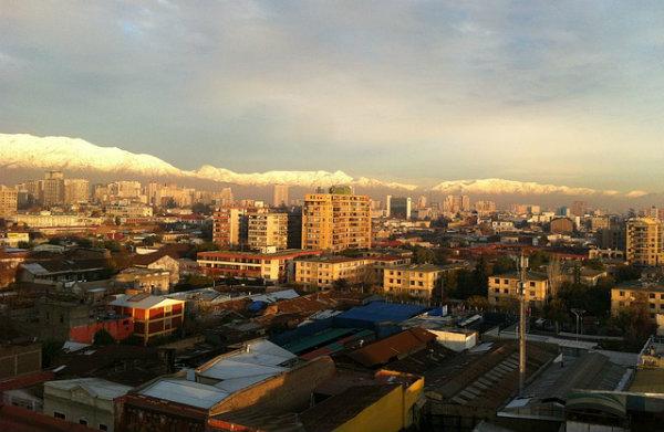 Road Trip in Chile - Santiago
