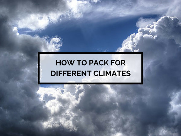 How to Pack for Different Climates-1