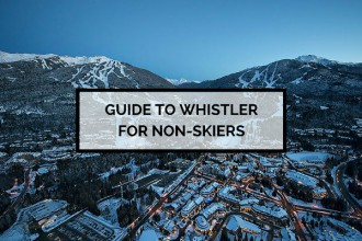Guide to Whistler for non-skiers