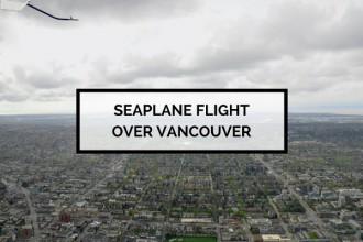 Seaplane Flight Over Vancouver