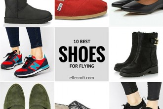 10 Best Shoes for Flying