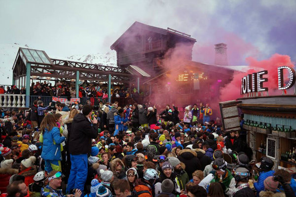 La Folie Douce Val D Isere Party In The Alps By Elle Croft