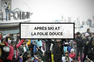 Apres Ski at La Folie Douce