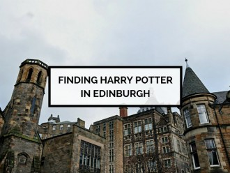 Finding Harry Potter in Edinburgh
