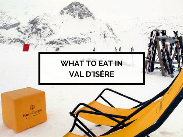 What to eat in Val d'Isère
