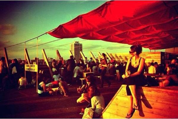 Best Rooftop Bars in London - Franks Cafe