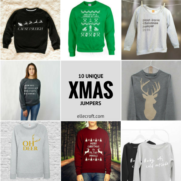 db0daa9923ba 10 Unique Christmas Jumpers You ll Actually Wear - by Elle Croft