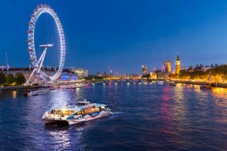 Sailing to Neverland with Thames Clippers