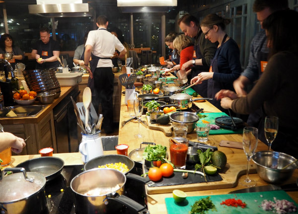 Jamie Oliver Cookery School - A Mexican Street Food Feast