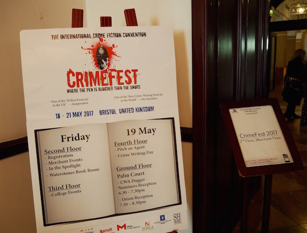 10 Things I Learned at CrimeFest 2017