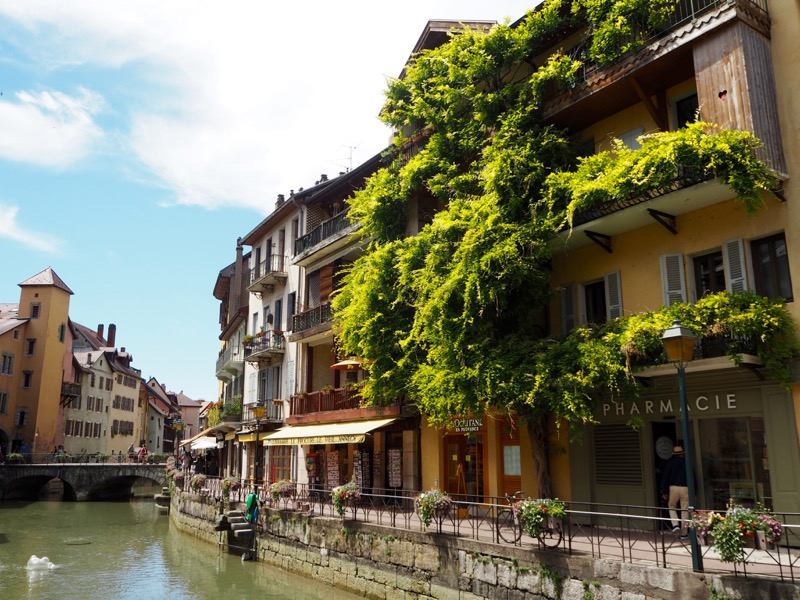 Snapshots from a Summer Break in Annecy, France