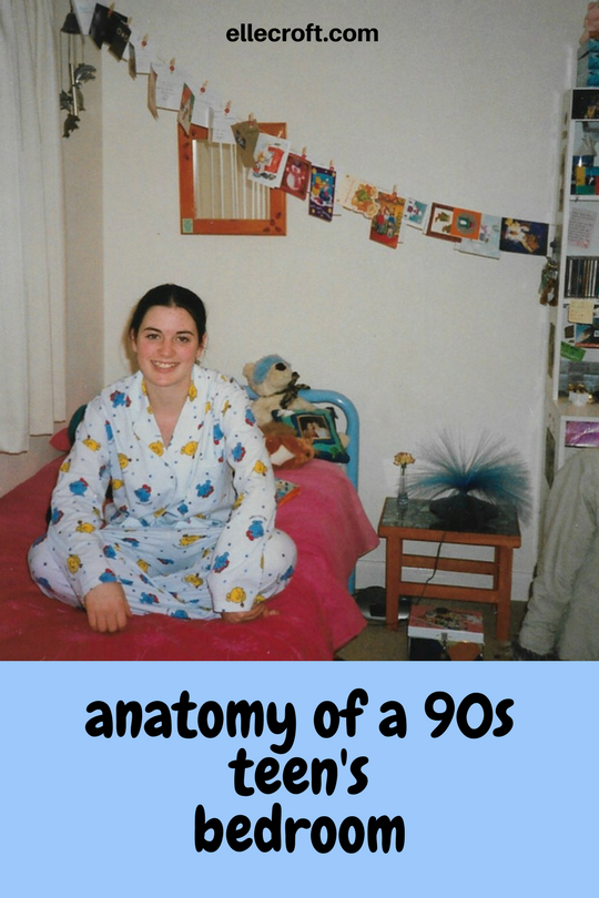 Anatomy of a 90s Teen's Bedroom