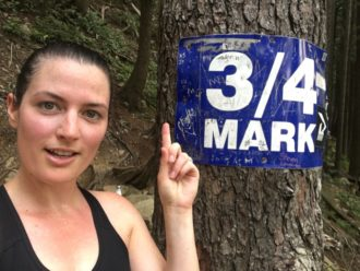 Hiking the Grouse Grind in Vancouver, Canada
